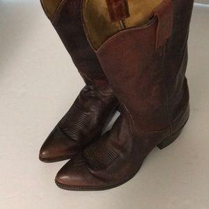 TONY LAMA Men's Sz 9 1/2 D Cowboy Western Boots